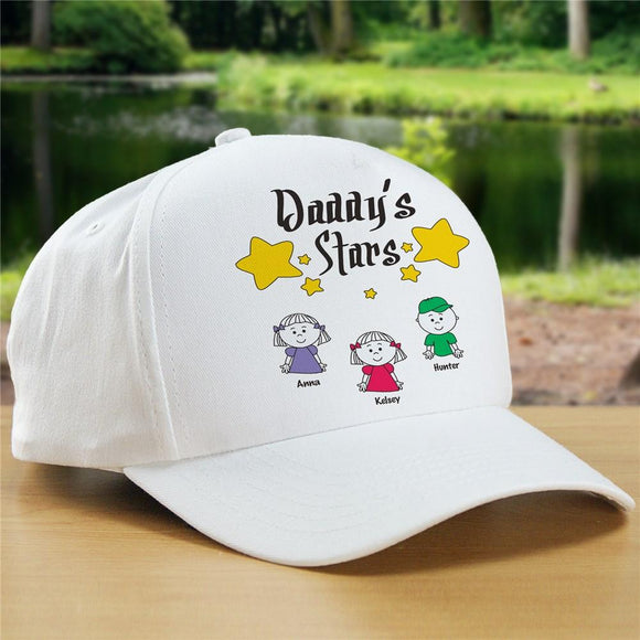 My Stars Personalized Father's Day Hat-Personalized Gifts