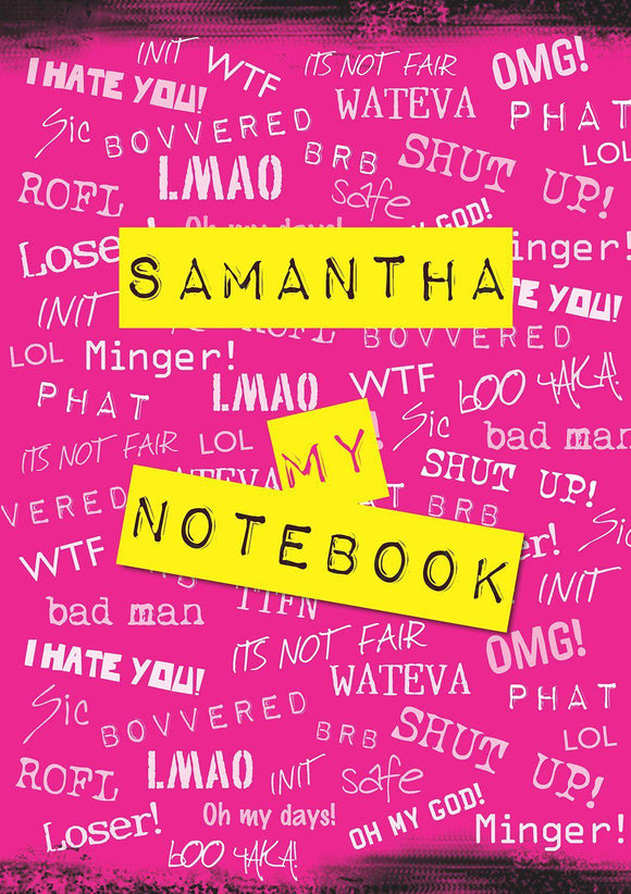 OMG! PHAT - LMAO! Notebook-Personalized Gifts