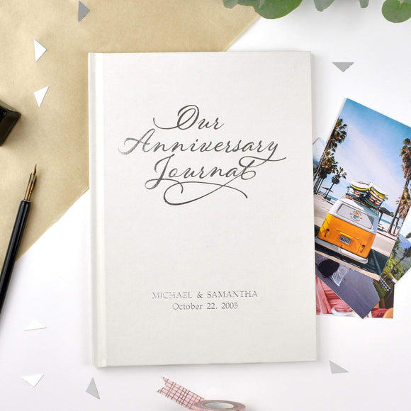 Our Anniversary Journal-Personalized Gifts