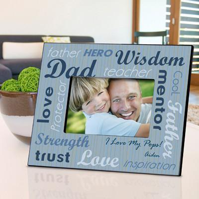 Personalized All-Star Dad Frame-Personalized Gifts