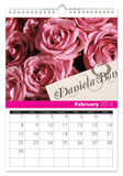 Personalized All Things Pink Calendar-Personalized Gifts
