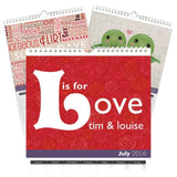 Personalized Anniversary Calendar-Personalized Gifts