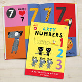 Personalized Arty Mouse Numbers Activity Book-Personalized Gifts