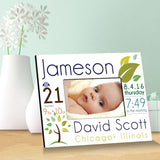Personalized Baby Announcement Picture Frame-Personalized Gifts