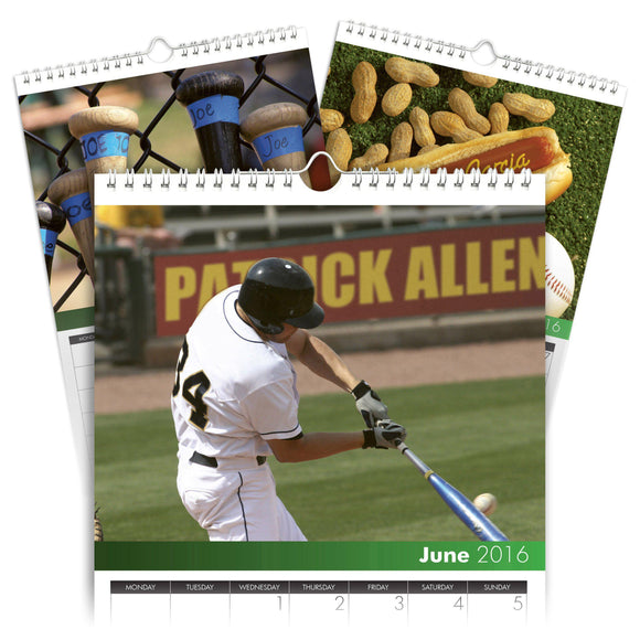 Personalized Baseball Calendar-Personalized Gifts
