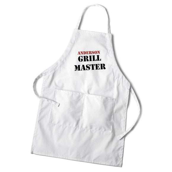 Personalized BBQ and Grilling Apron-Personalized Gifts