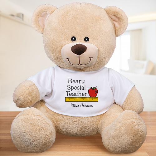 Personalized Beary Special Teacher Teddy Bear-Personalized Gifts