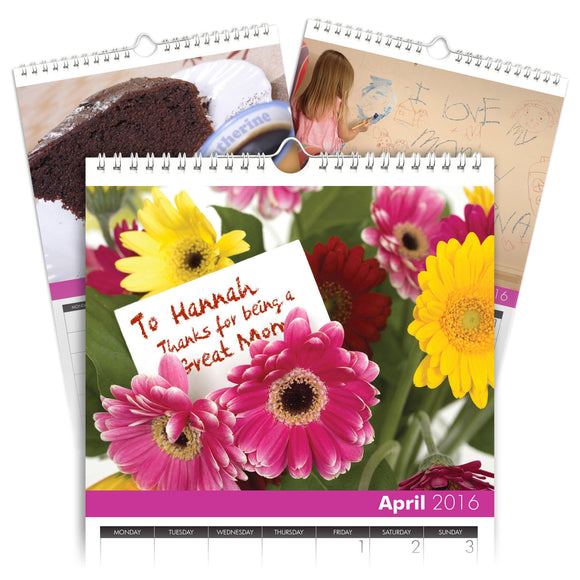 Personalized Best Mom Calendar-Personalized Gifts