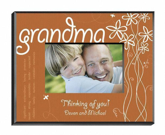 Personalized Breath of Spring Frame - Grandma-Personalized Gifts