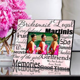 Personalized Bridesmaid Picture Frame-Personalized Gifts