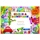 Personalized Color In Activity Book-Personalized Gifts