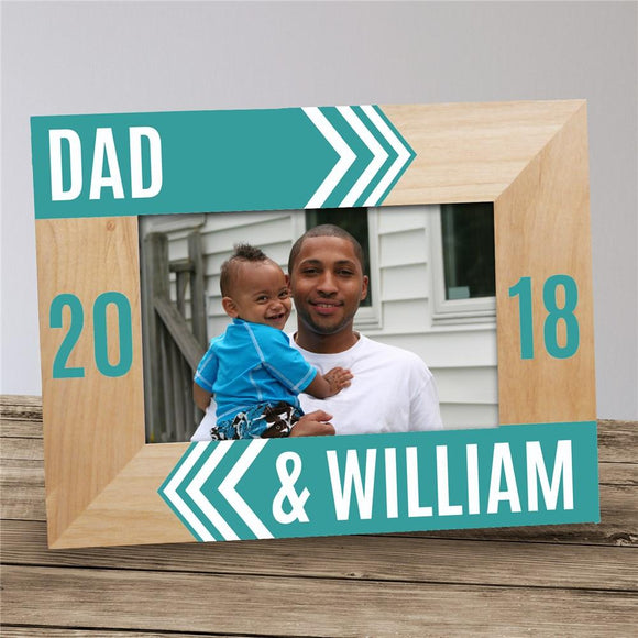 Personalized Dad Picture Frame-Personalized Gifts