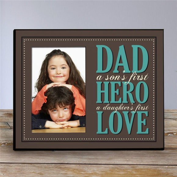 Personalized Dad Printed Frame-Personalized Gifts