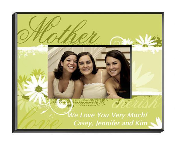 Personalized Delicate Daisy Frame - Mother-Personalized Gifts
