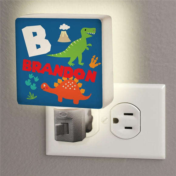 Personalized Dinosaur Night Light-Personalized Gifts