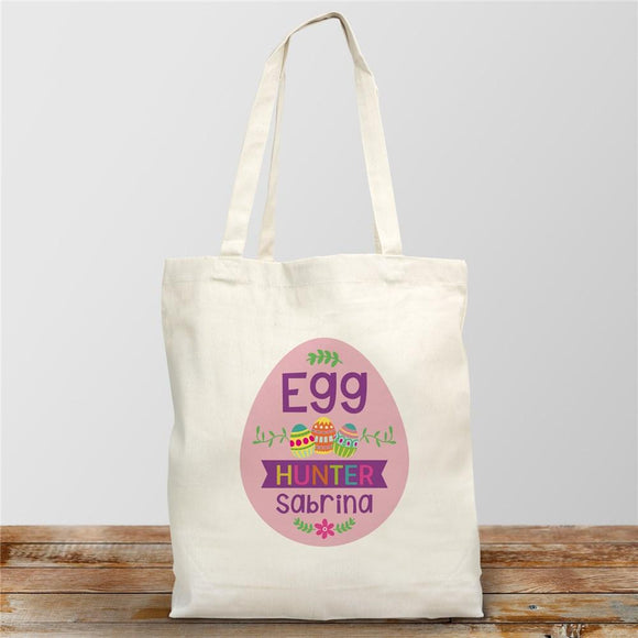 Personalized Egg Hunter Easter Tote-Personalized Gifts
