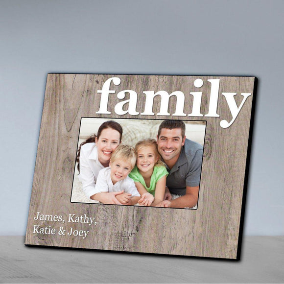Personalized Family Picture Frame - All-Personalized Gifts