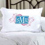 Personalized Felicity Cheerful Monogram Pillow Case-Personalized Gifts