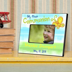 Personalized First Communion Picture Frame-Personalized Gifts