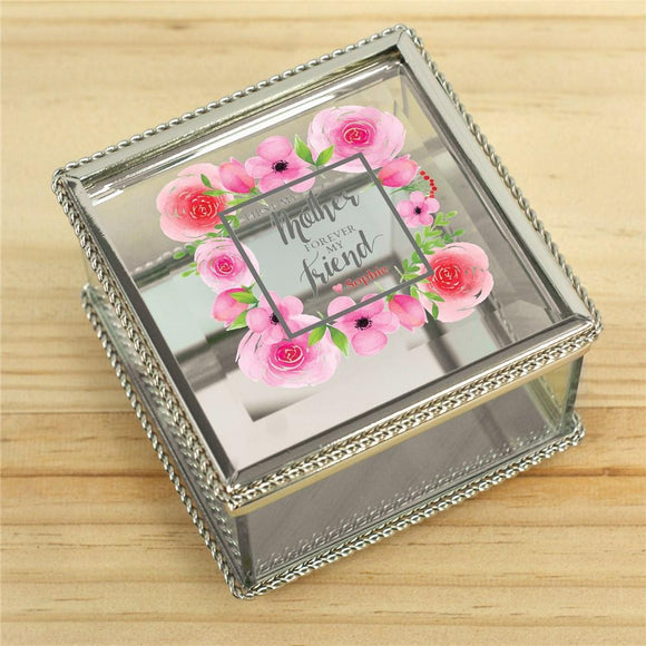 Personalized First My Mother Forever My Friend Jewelry Box-Personalized Gifts
