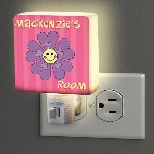 Personalized Flower Night Light-Personalized Gifts
