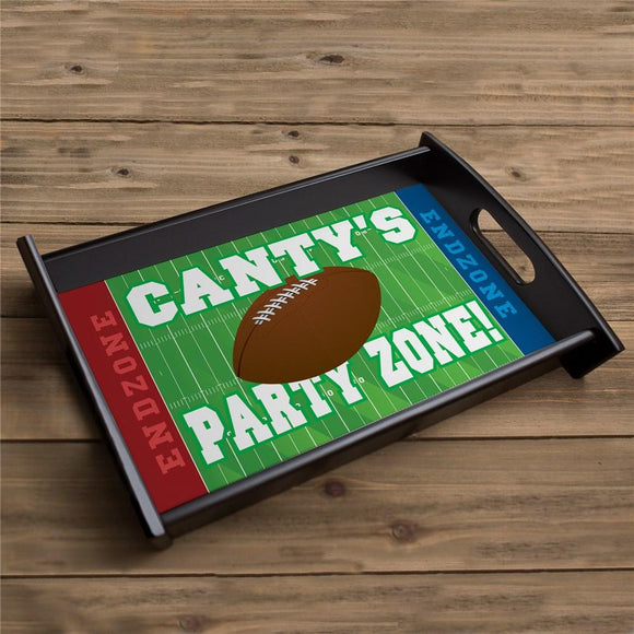 Personalized Football Party Serving Tray-Personalized Gifts