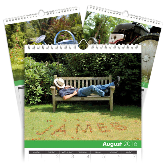 Personalized Gardening Calendar-Personalized Gifts