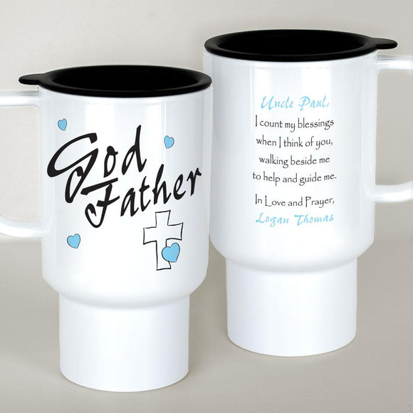 Personalized Godfather Travel Mug-Personalized Gifts