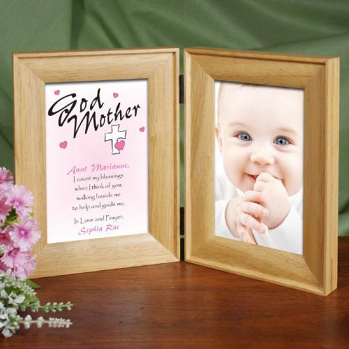 Personalized Godparent Picture Frame - Count My Blessings-Personalized Gifts