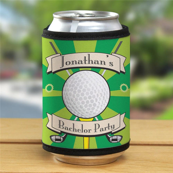 Personalized Golf Can Wrap-Personalized Gifts