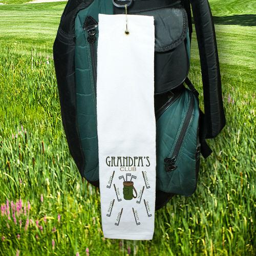 Personalized Golf Club Golf Towel-Personalized Gifts
