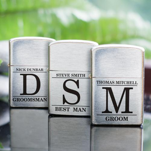 Personalized Groomsmen Lighter-Personalized Gifts