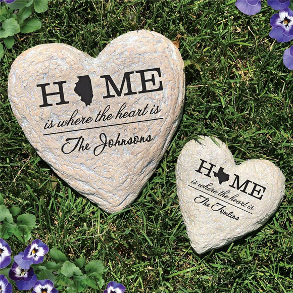 Personalized Home State Garden Stone-Personalized Gifts