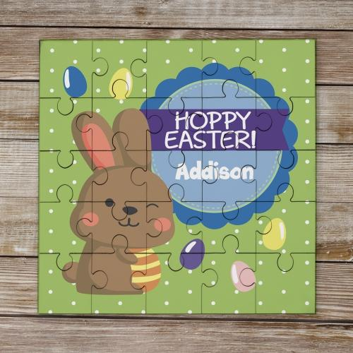 Personalized Hoppy Easter Puzzle-Personalized Gifts