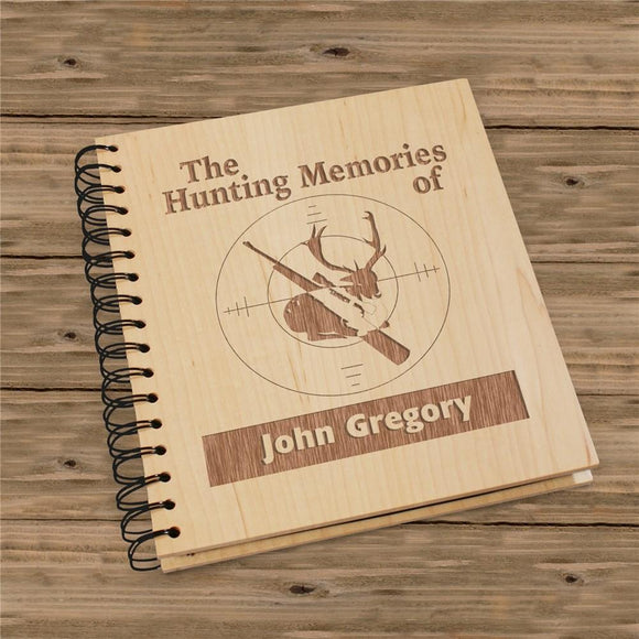 Personalized Hunter's Photo Album-Personalized Gifts