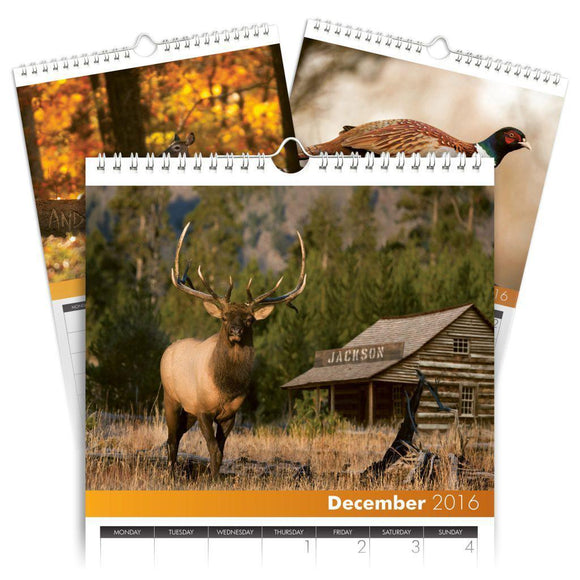 Personalized Hunting Calendar-Personalized Gifts