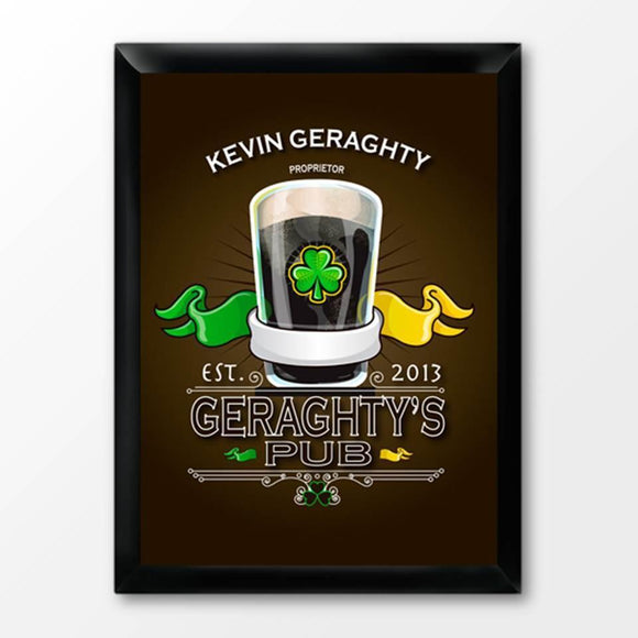 Personalized Irish Bar Signs-Personalized Gifts