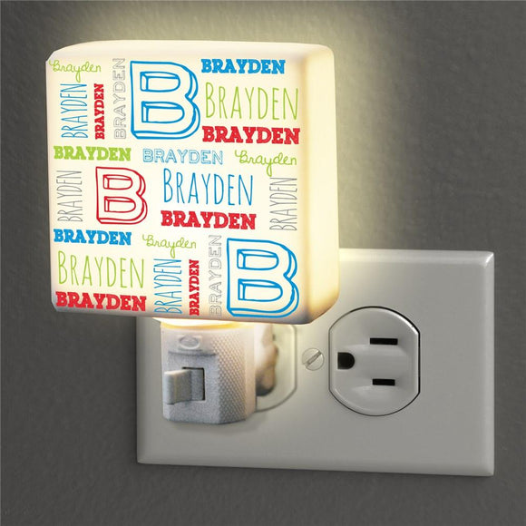Personalized Kid's Name Night Light-Personalized Gifts