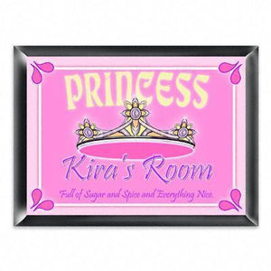Personalized Kid's Room Sign - Princess-Personalized Gifts
