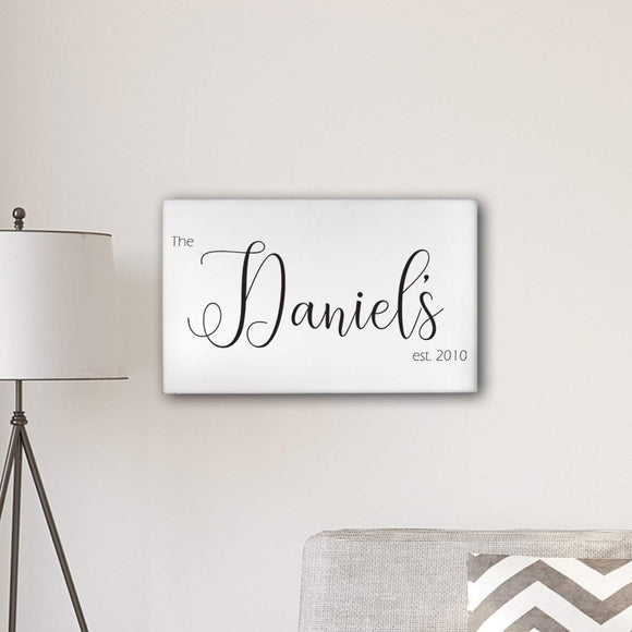 Personalized Last Name Modern Farmhouse 14