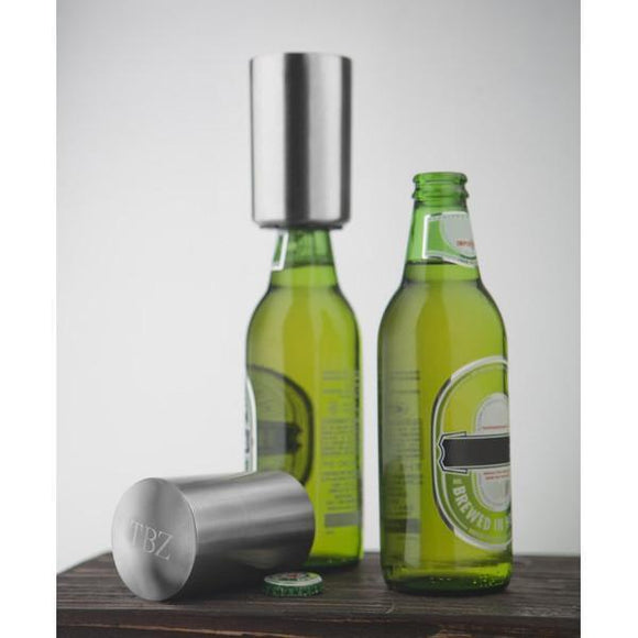 Personalized Leonardo deCapper Bottle Opener-Personalized Gifts