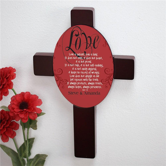 Personalized Love Cross-Personalized Gifts