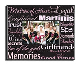 Personalized Matron of Honor Picture Frame-Personalized Gifts