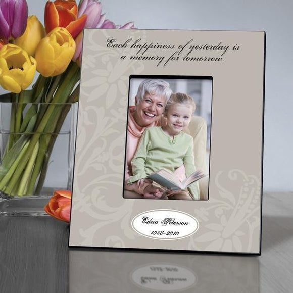 Personalized Memorial Frame - Each Happiness-Personalized Gifts