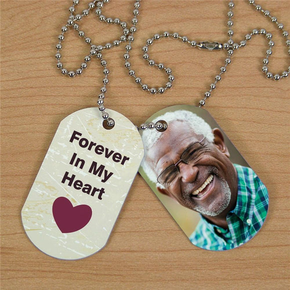 Personalized Memorial Photo Dog Tags-Personalized Gifts