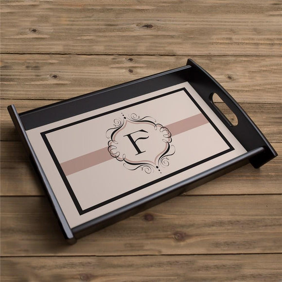 Personalized Monogram Serving Tray-Personalized Gifts