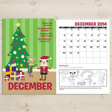Personalized Months of the Year Activity Book-Personalized Gifts