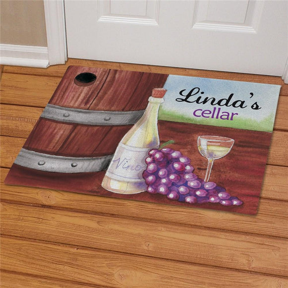 Personalized My Wine Cellar Doormat-Personalized Gifts