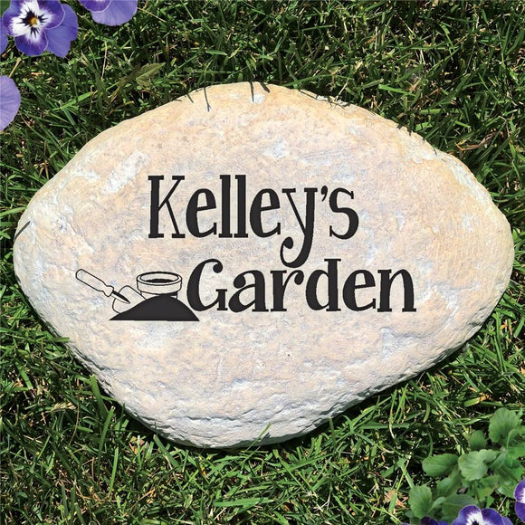 Personalized Name Garden Stone-Personalized Gifts