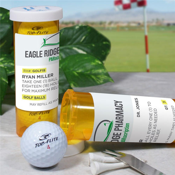 Personalized PARscription Golf Ball Set-Personalized Gifts